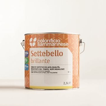 Settebello - vendita online Smalto sintetico di alta qualità brillante - Colorificio Sammarinese